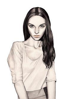 Hanna Muller en Fashionaryhand