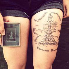 Tattoo by Duke Riley @duke_riley #POW #scrimshawtattoo #usshouston #dukeriley (at East River Tattoo)