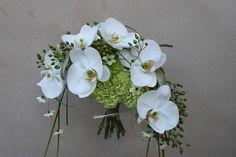 Brudebuket, vifteformet by Egedal Blomster Design, via Flickr