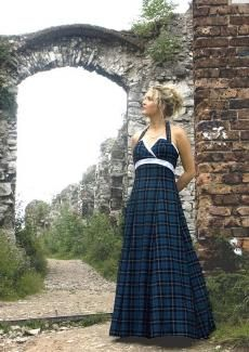 Tartan Wedding Dress Shaira | Kilts and Scottish Kilts from Edinburgh.