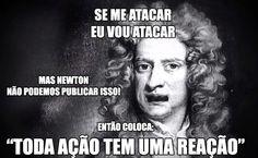 Aposto que você não sabia que Inês Brasil foi a inspiração para a 3ª Lei de Newton