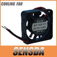 new SEPA MF15B-05 5V 0.06A  1.5cm 15mm 1505 15x15x5mm mini micro fan server cooling fan