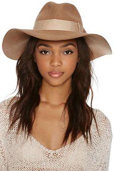 Jasmine Floppy Hat - Camel camel, floppi hat, accessori