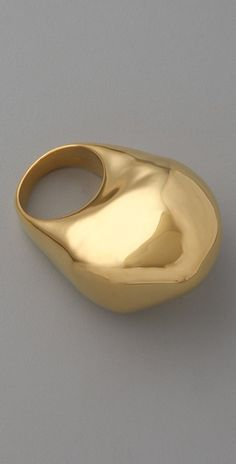 Alexis Bittar Liquid Gold Lava Ring $175.00