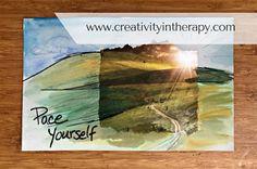 Seeking Safety Art Therapy | Creativity in Therapy | Carolyn Mehlomakulu