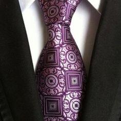 Men's Ties New Man Fashion Neckties Corbatas Gravata Jacquard Silk Tie Business Green Purple Navy Gray Tie For Men Boho Fashion Fall, Trendy Mens Fashion, Spring Fashion Casual, Man Fashion, Green Fashion, Gifts For Wedding Party, Wedding Men, Luxury Ties, Fashion Pattern
