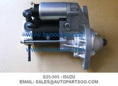 S25-505 8970958-Twoo Auto Parts Ltd Starter Motor, Nerf