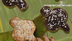La ricetta delle colombine pasquali al cioccolato di Anna Moroni del 12 marzo 2015 - Dolci dopo il tiggì