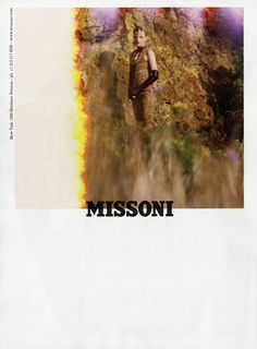 missoni f/w 2012 campaign