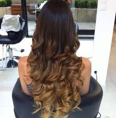Awesome ombre hair
