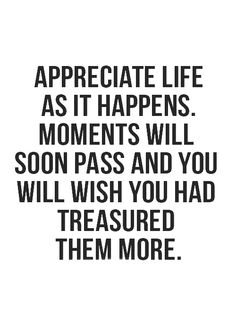 treasure more.