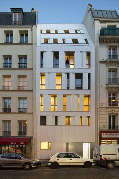 MAAST Architectes — Residence Poissonniers, Paris 18e