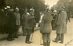 1915, ul. Świdnickia. Wizyta cesarza we Wrocławiu.