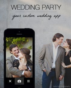 Create a custom app for your #wedding with Wedding Party! You and your guests will LOVE how you can stay updated with your latest wedding news, share photos of all your bridal celebrations, and more!
