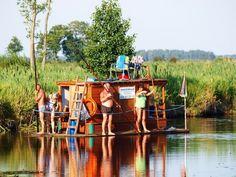Spływy tratwami rzeką Biebrzą - Biebrza24