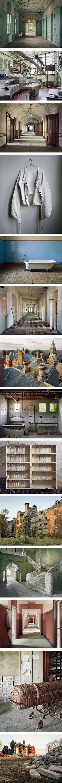 Photographer Documents Abandoned Mental Hospitals