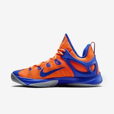 Mens Nike Zoom Hyperrev 2015 Total Orange/Dove Grey/Lyon Blue For Sale  Online