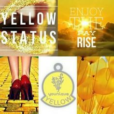 Yellow status!! #younique #youniquepresenter #makeuplover #beauty #joinmyteam #workfromhome