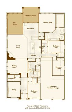 6955508afe7eb479716d0f474e20d51a highland homes 926 floor plan (downstairs with outdoor fireplace,Highland Homes Floor Plans Texas