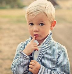 I keep telling my sweet hubby that I want a mini me him, just like this adorable lad all prepped in seersucker.