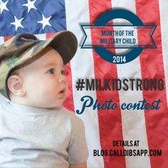 Please submit all photos to us via our Facebook page in a Private Message or email at events@calldibsapp.com. The winner will receive a $50 Amazon Gift Card and the chance to be featured in a TeeSpring.com Tshirt fundraiser. #milkidstrong #calldibsapp #milso #army #navy #airforce #marines #coastguard #nationalguard #vets #veterns #milspouse