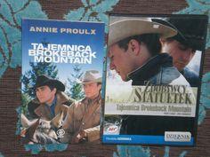 Tajemnica Brokeback Mountain ksiązka + dvd Cena: 49zł Pełne ogłoszenie na: https://sprzedajemy.pl/tajemnica-brokeback-mountain-ksiazka-film-nr46708352