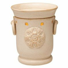 Scentsy Claremont Full-Size Scentsy Warmer by Scentsy. $44.99. Elegant simplicity at its finest. Claremont features a stamped flourish on an understated sandstone finish, punctuated by two ring handles.