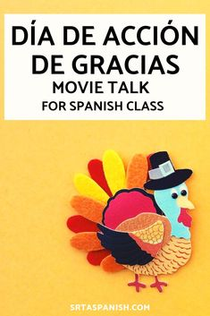 Are you looking for Thanksgiving activities for your Spanish classes? Your Spanish classroom will love this Movie Talk about a turkey and a farmer! Perfect for middle school and high school students… Middle School Spanish, Elementary Spanish, Ap Spanish, Spanish Activities, Class Activities, Free Activities, Spanish Lesson Plans, Spanish Lessons, Spanish Teacher