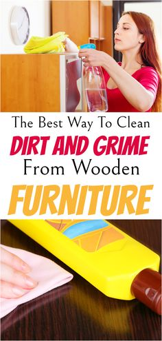 Household Cleaning Tips, House Cleaning Tips, Cleaning Products, Cleaning Hacks, Furniture Cleaning, How To Clean Furniture, House Hacks, Green Cleaning, Wooden Furniture