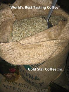 10 lbs - 100% Hawaii - Hawaiian Kona Coffee Green Beans - For Home Roasting  $129.99 http://green-coffee-800.com/