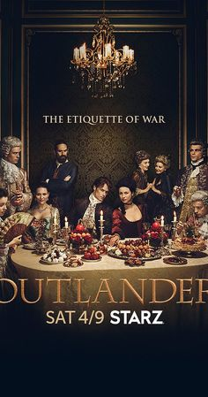 Outlander Season 2, airing on STARZ, based on the book series Outlander by Diana Gabaldon Release date: April 9, 2016