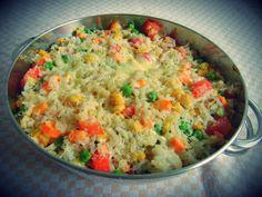 Se você gosta de receitas saudáveis e não abre mão dos vegetais à mesa, faça um delicioso arroz de f... - Reprodução / criacoesdegeleia.blogspot.com