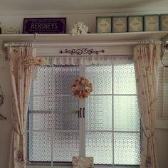 セリア取っ手/ガラスシート/アンティーク/窓枠DIY/リメイク /DIY…などのインテリア実例 - 2016-02-05 10:36:54 | RoomClip(ルームクリップ)