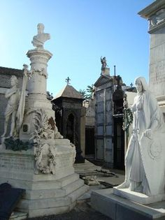 Photos of Recoleta Cemetery Buenos Aires Argentina.  Eva Peron buried here