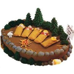 Camping Fun Cake