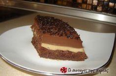 Είναι ίσως η καλύτερη τούρτα που έχω δοκιμάσει, έχω φάει και θα ξαναφάω ever. Αξίζει να την δοκιμάσετε είναι εγγύηση. Party Desserts, Dessert Recipes, Yummy Mummy, Recipe Images, Greek Recipes, Delicious Desserts, Sweet Tooth, Sweet Treats, Deserts