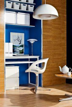 Modernes und stilvolles häusliches Arbeitszimmer Design
