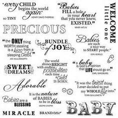 Baby Scrapbooking Quotes