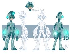 Character Turnarounds by *EricGuzman on deviantART join us http://pinterest.com/koztar