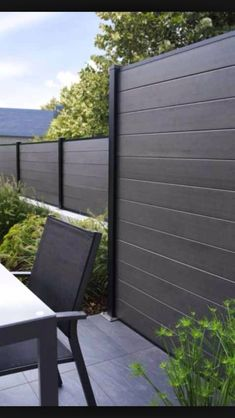 Image result for Modern Privacy Fence Panel Designs