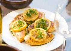 Recept: Citromos – rozmaringos csirkemellfilé