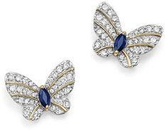 Betsey Johnson Women/'s Crystal Lovely Fly Butterfly Ear Stud Boucles d/'oreilles