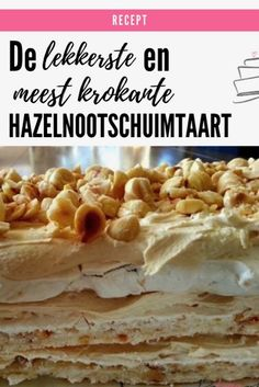 Dutch Recipes, Sweet Recipes, Cooking Recipes, Dominican Food, Dominican Recipes, My Pie, Fodmap, Bacon, Deserts