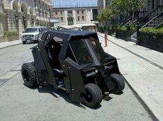 The Dark Knight Golf Cart Tumbler