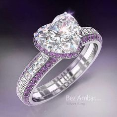Purple and diamonds