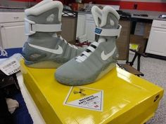 Air Mag Marty McFly's Sneakers   | ESHOPICA - Clothing on ArtFire
