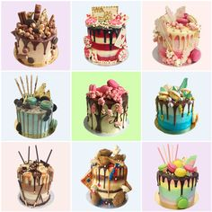 Cakes by Anges de Sucre. Cake Delivery London #birthdaycakes