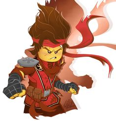 Lego Ninjago Lloyd, Ninjago Kai, Lego Ninjago Movie, Little Kid Shows, Itachi, Lego Film, Really Cool Drawings, Arte Ninja, Lego Craft