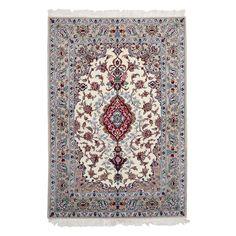 "Isfahan Collection Persian Rug, 3'9"" x 5'5"""