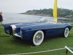 grumpygrimone: 1951 Bugatti Type 101 Ghia Roadster.